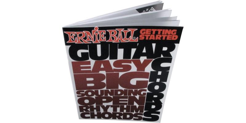 Ernie Ball Getting Started Guitar Chords Book