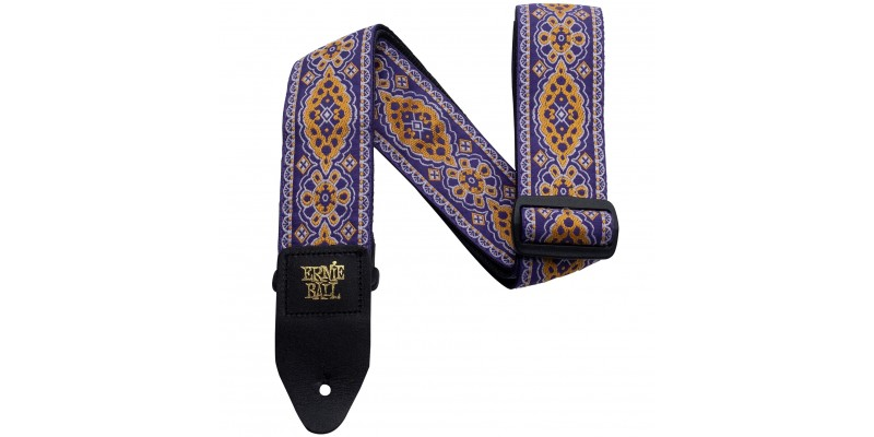 Ernie Ball Jacquard Guitar Strap Purple Sunset 1
