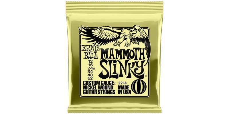 Ernie Ball Slinky Nickelwound Mammoth Slinky 12-62 Front
