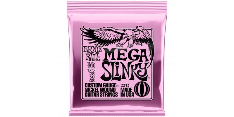Ernie Ball Mega Slinky Nickel Wound Electric Guitar Strings 10.5-48 Gauge Front