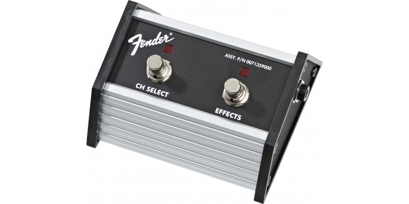 Fender 2-Button Footswitch for Super Champ X2, XD