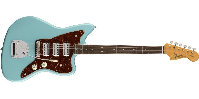 Fender-60th-Anniversary-Triple-Jazzmaster-Daphne-Blue-Front