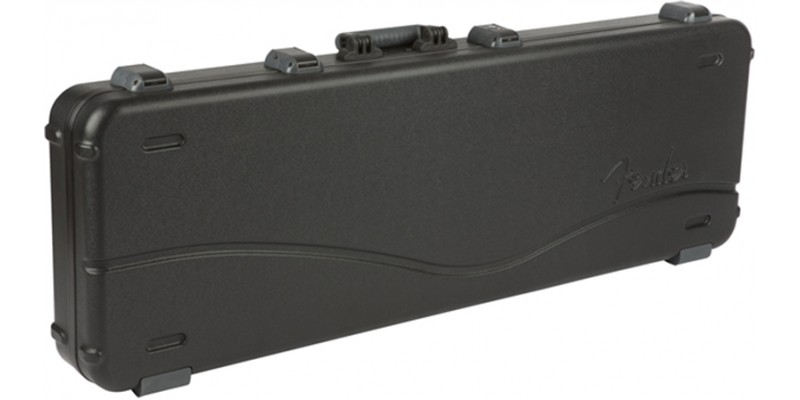 Fender Deluxe Molded Case for Jazz & Precision Bass Guitars Top