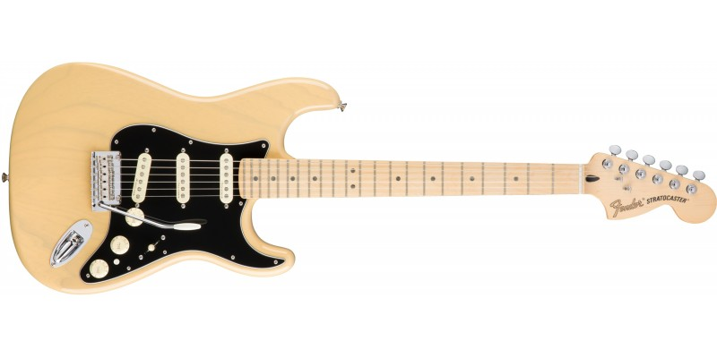 Fender Deluxe Stratocaster Guitar Vintage Blonde Maple