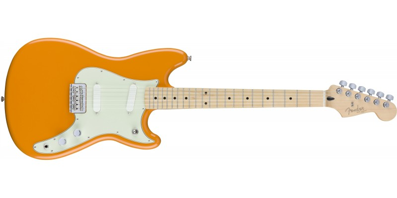 Fender Duo-Sonic Capri Orange Offset Guitar