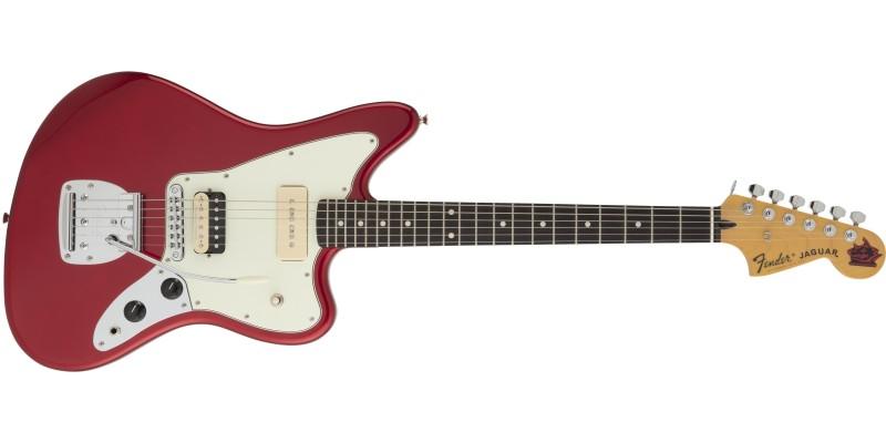 Fender Jean-Ken Johnny Jaguar Candy Apple Red Front