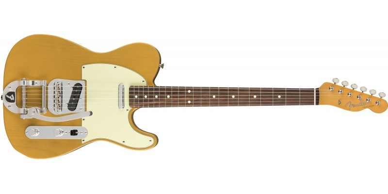 Fender Limited Edition MIJ Traditional '60s Telecaster Bigsby Butterscotch Blonde
