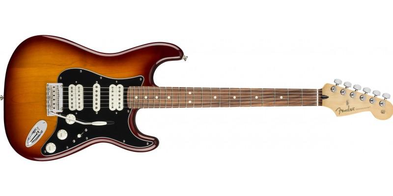 Fender-Player-Stratocaster-HSH-Tobacco-Sunburst-Pau-Ferro-Front