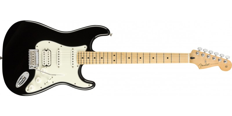 Fender-Player-Stratocaster-HSS-Black-Maple-Front