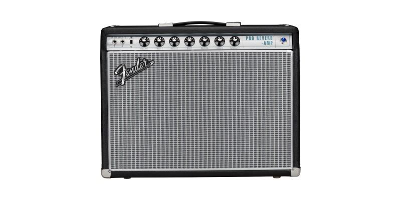 Fender 68 Custom Pro Reverb Front