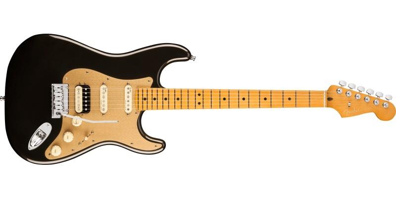 Fender American Ultra Stratocaster HSS Texas Tea Maple Front