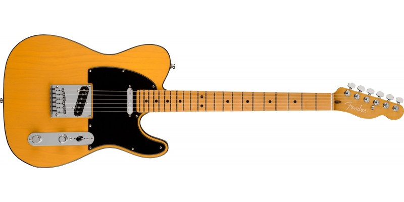 Fender American Ultra Telecaster Butterscotch Blonde Maple Front