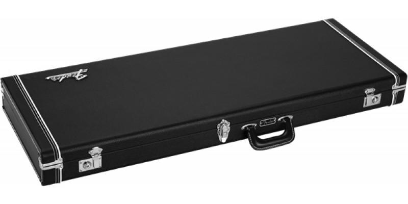 Fender Classic Series Wood Case Jazzmaster Jaguar Black Flat