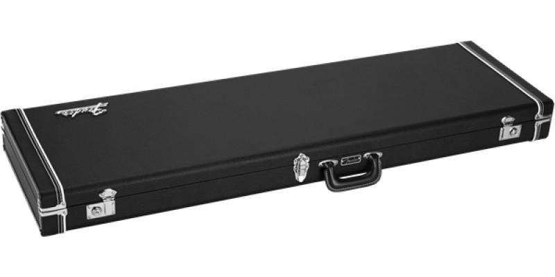 Fender Classic Series Wood Case Precision Bass Jazz Bass Black Flat