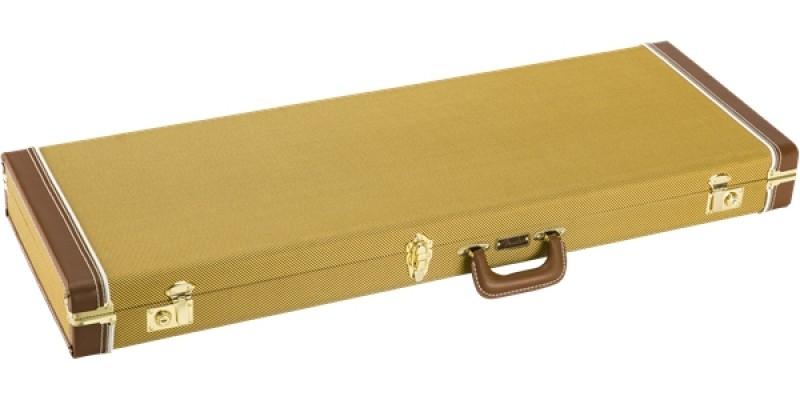 Fender Classic Series Wood Case Strat Tele Tweed Flat