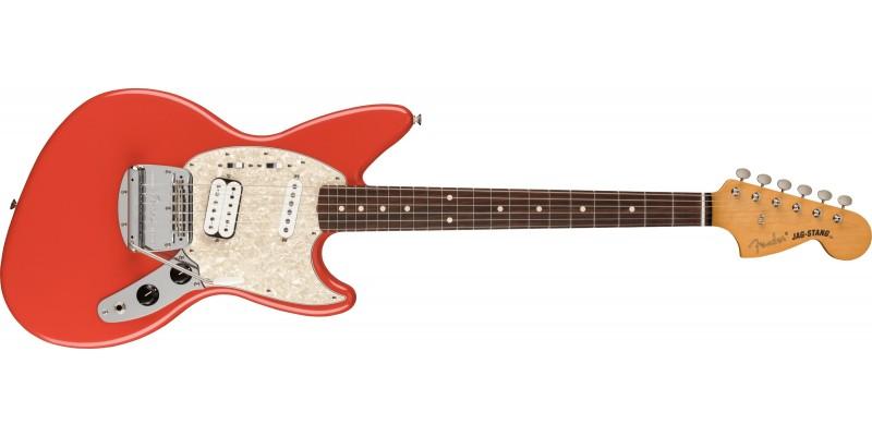 Fender Kurt Cobain Jag-Stang Fiesta Red Front