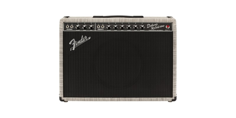 Fender Limited Edition 65 Deluxe Chilewich With Creamback Front