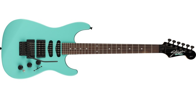 Fender MIJ Limited Edition HM Strat Ice Blue Front