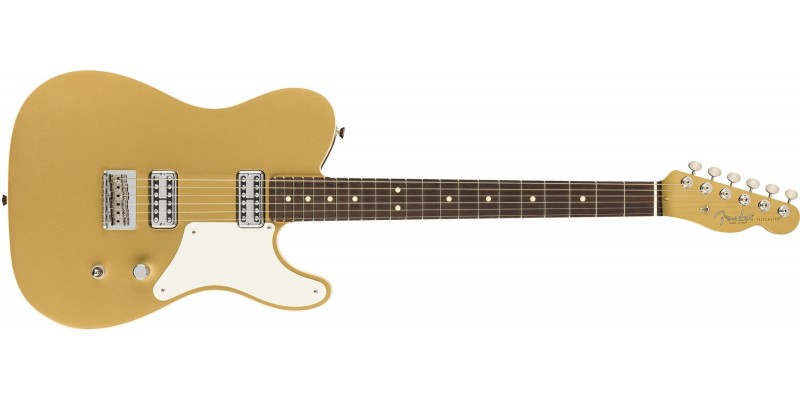 Fender Limited Edition USA Cabronita Telecaster Aztec Gold Front