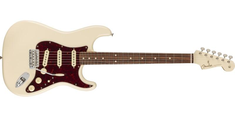 Fender LTD Vintera 60s Stratocaster Olympic White Matching Headstock Front