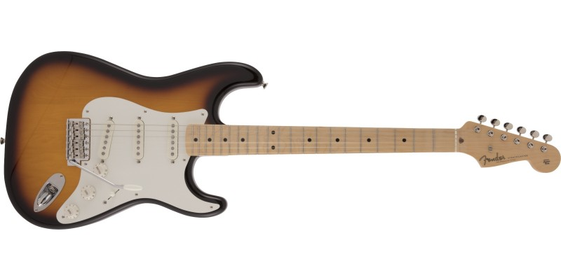 Fender Made in Japan Traditional 50s Stratocaster Maple Fingerboard 2-Colour Sunburst Front