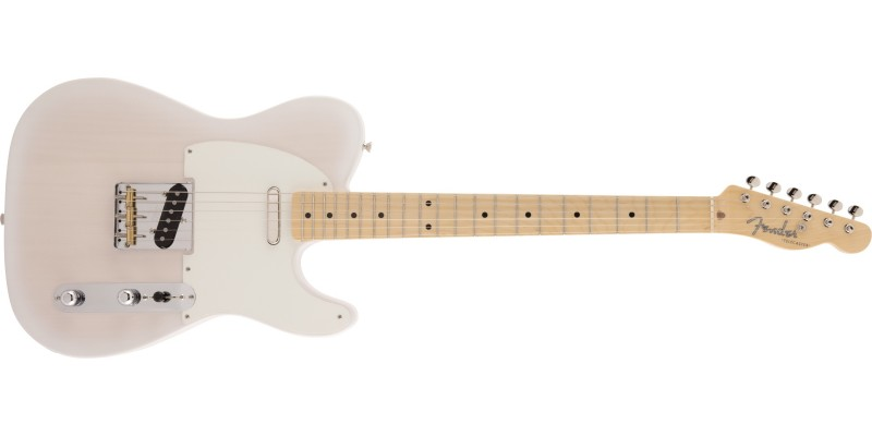 Fender Made in Japan Traditional 50s Telecaster Maple Fingerboard White Blonde Front