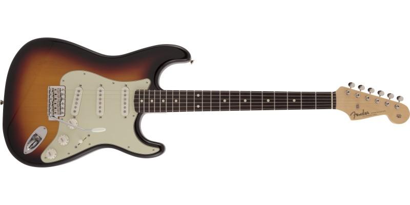 Fender MIJ Limited Edition Traditional '60s Stratocaster 3-Colour Sunburst Front