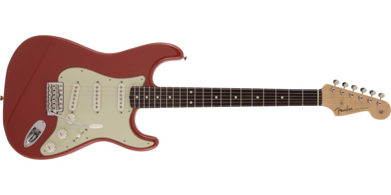 Fender MIJ Limited Edition Traditional '60s Stratocaster Fiesta Red Front