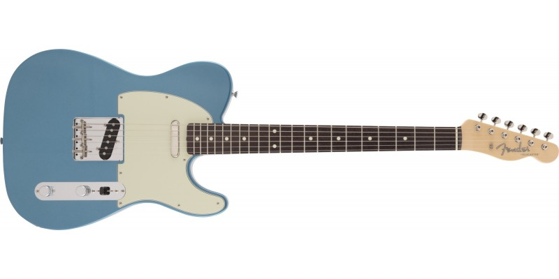Fender MIJ Limited Edition Traditional '60s Telecaster Lake Placid Blue Front