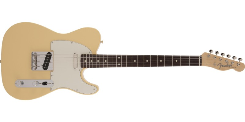 Fender MIJ Limited Edition Traditional '60s Telecaster Vintage White Front