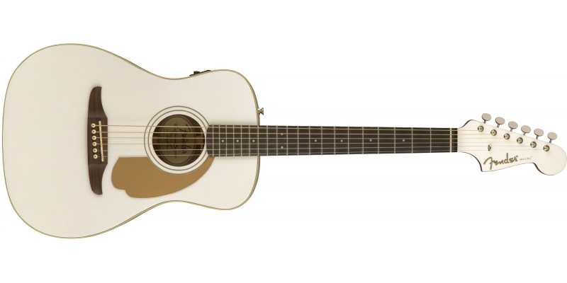 Fender Malibu Player Arctic Gold Front