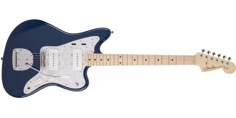 Fender-MIJ-Hybrid-Jazzmaster-Indigo-Front