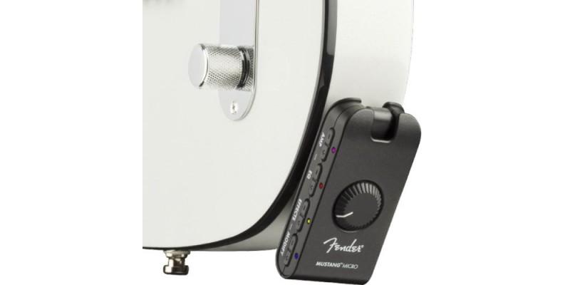 Fender Mustang Micro Headphone Amplifier Tele Socket