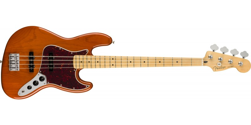 Fender Player Jazz Bass Maple Fingerboard Aged Natural Front