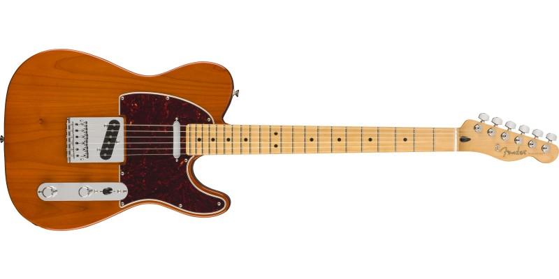 Fender Player Telecaster Maple Fingerboard Aged Natural Front
