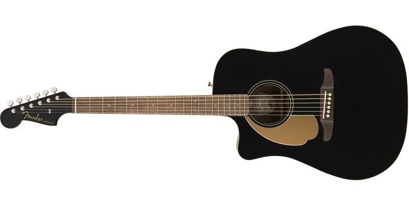 Fender Redondo Player Left Handed Jetty Black Front
