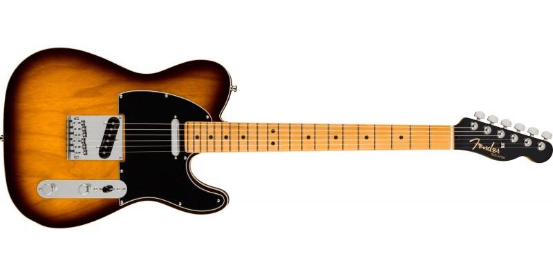 Fender Ultra Luxe Telecaster Maple Fingerboard 2-Colour Sunburst Front