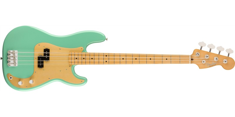 Fender Vintera 50s Precision Bass Sea Foam Green Front