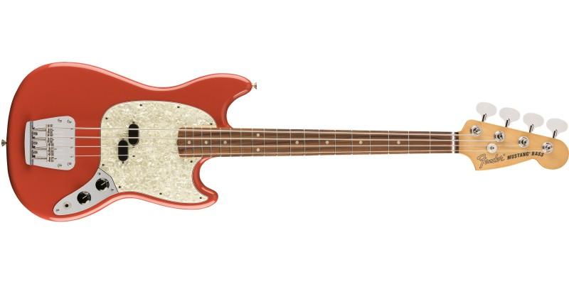 Fender Vintera 60s Mustang Bass Fiesta Red Front