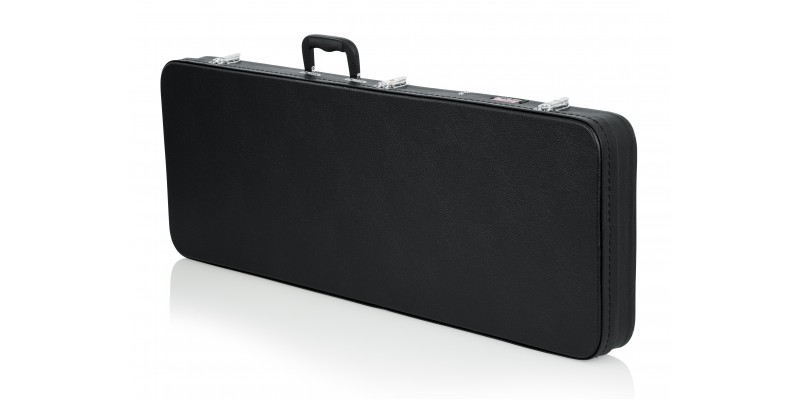 Gator GWE-ELEC-WIDE PRS Style & Wide Body Electric Case Front Angle