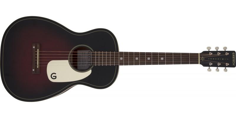 Gretsch G9500 Jim Dandy 24 Scale Flat Top Guitar 2-Colour Sunburst Front