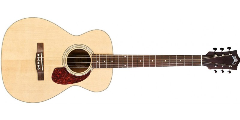 Guild M-240E Westerly Archback Concert Acoustic Natural