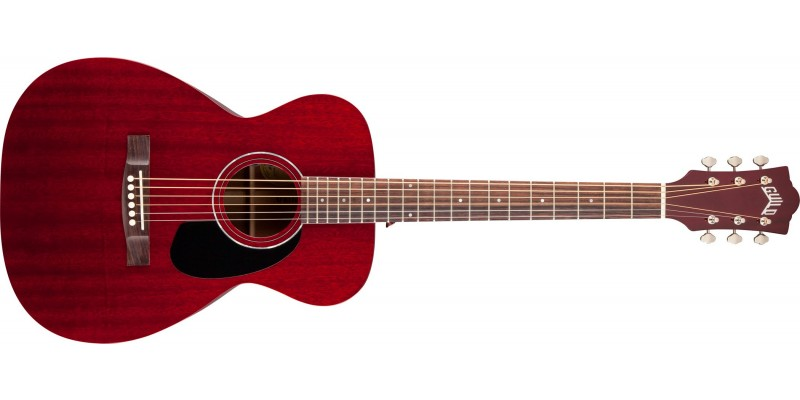Guild M120E Cherry Red Electro Acoustic Guitar