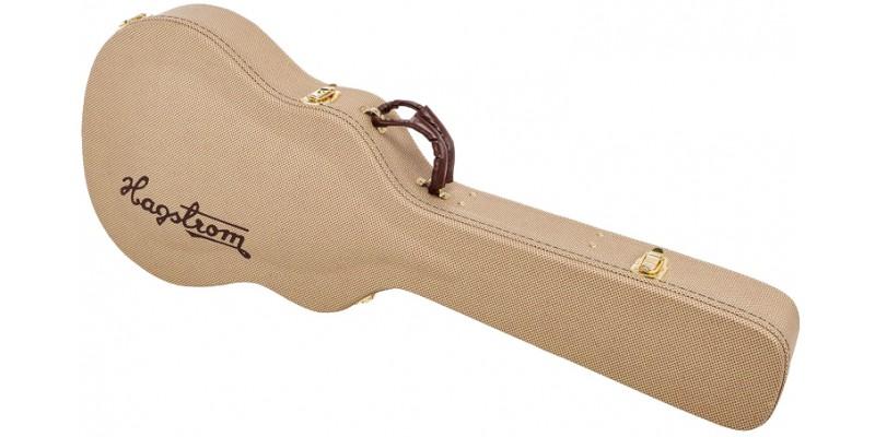Hagstrom C55 Viking Hag Case, Semi-Acoustic Hard Case