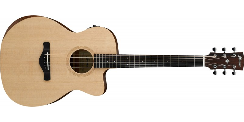 Ibanez-AC150CE-OPN-Artwood-Grand-Concert-Electro-Acoustic-Open-Pore-Natural-Front