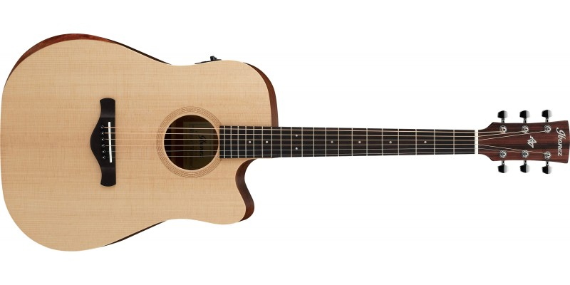 Ibanez-AW150CE-OPN-Artwood-Electro-Acoustic-Open-Pore-Natural-Front