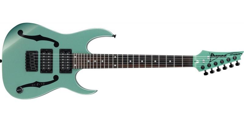 Ibanez-PGMM21-MGN-Paul-Gilbert-miKro-Metallic-Light-Green-Front