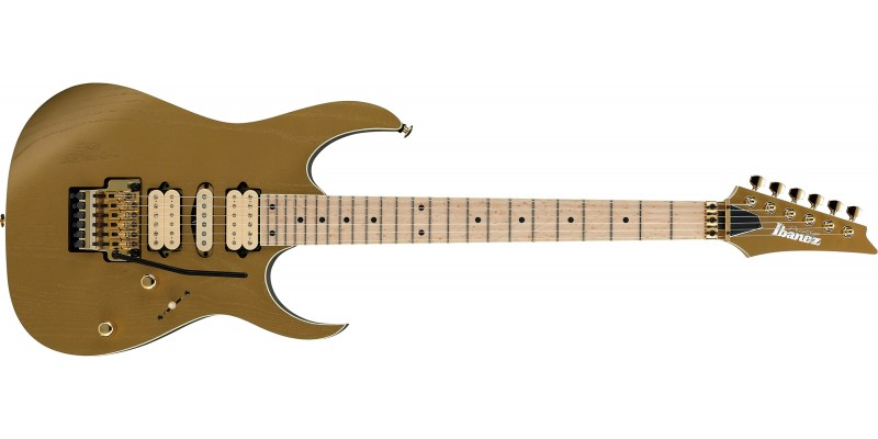 Ibanez-RG657AHM-Gold-Flat-Limited-Edition-Front