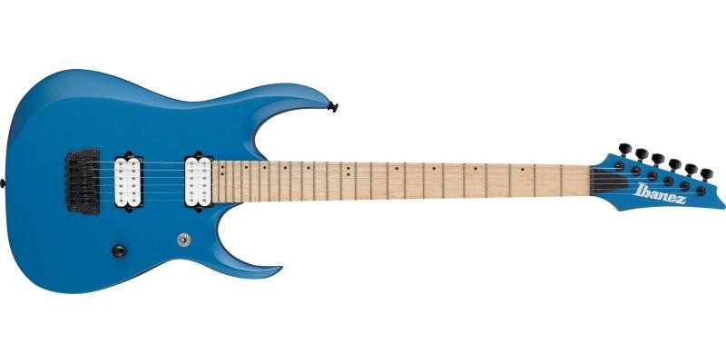 Ibanez-RGDIR6M-Laser-Blue-Matte-Front