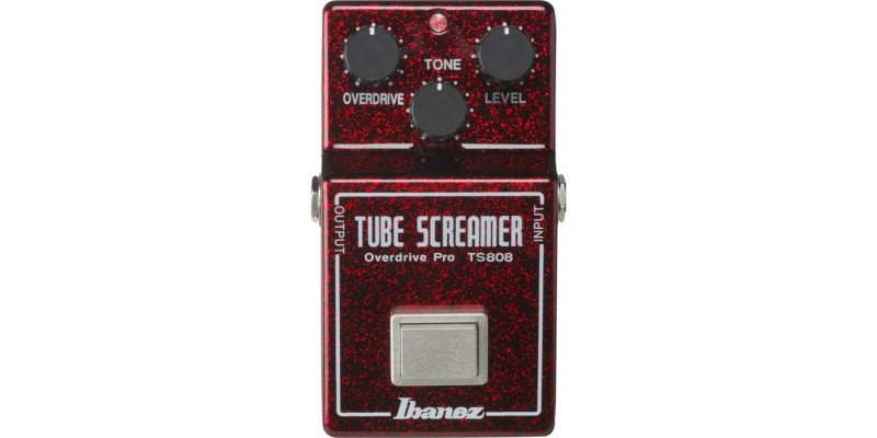 Ibanez TS808 Tube Screamer 40th Anniversary Limited Edition Ruby Red Sparkle